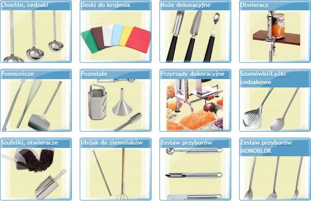 deski do krojenia,szatkownice,noże,łyżki,chochle,cedzaki,lubin,legnica,polkowice,głogów